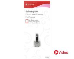 Gathering Presser Foot