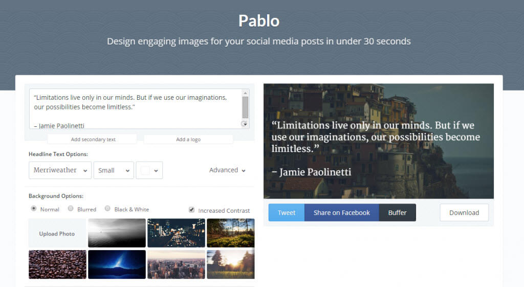 Pablo by Buffer