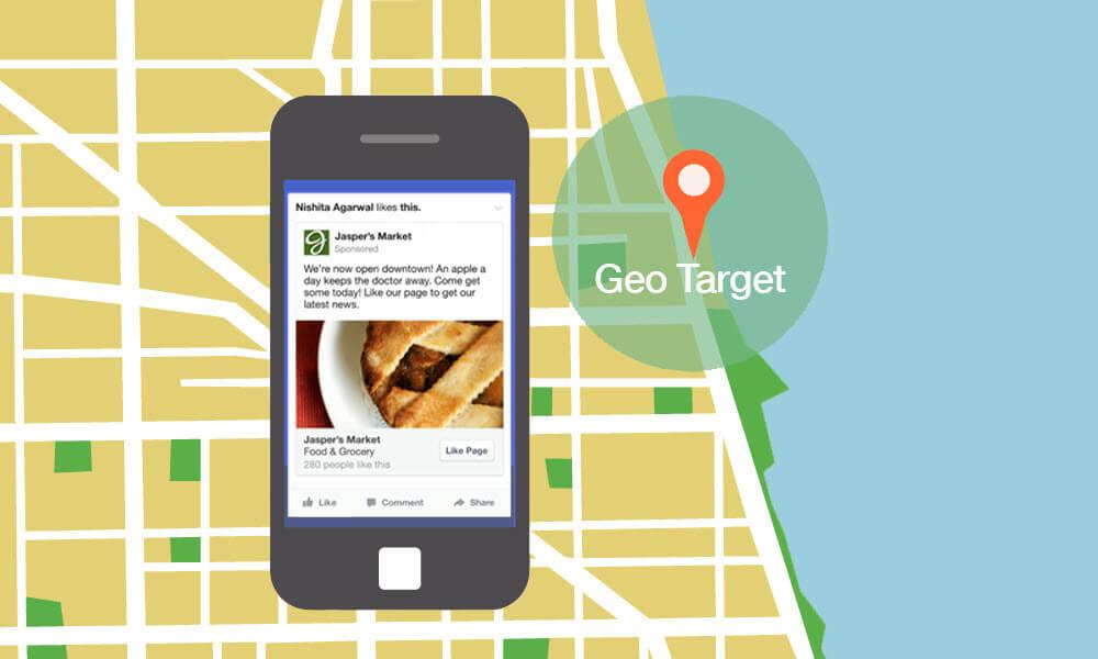 Facebook Geo Targeting