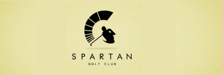 Spartan Golf Club Logo Design