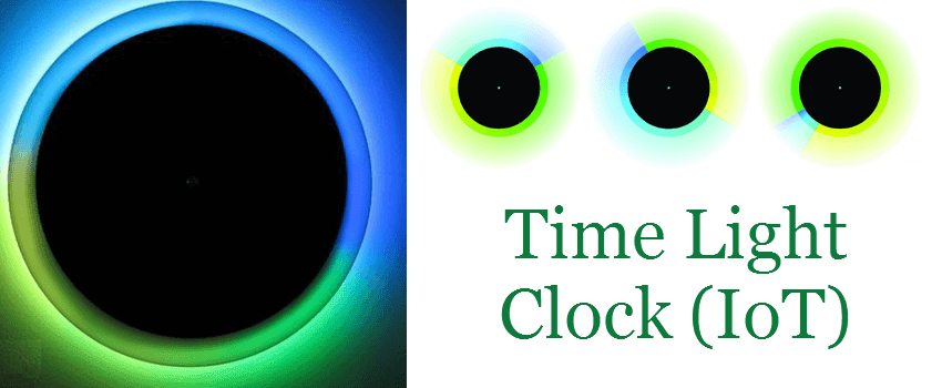 Time Light Clock (IoT) by Systematix