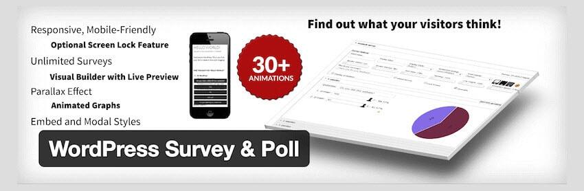 WordPress Survey-Poll Plugin
