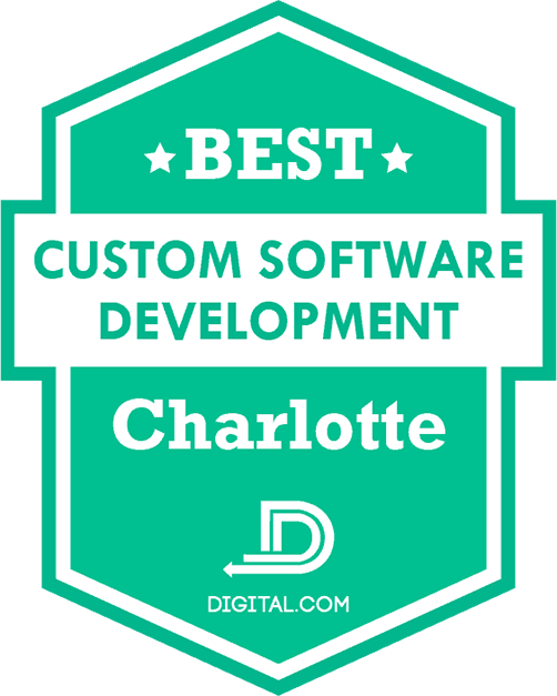 The Best Custom Software Development Companies in Charlotte Badge