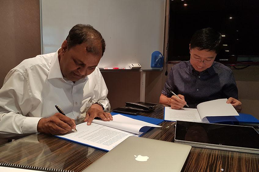 Business Partnership with Singapore based Cloud I/Os