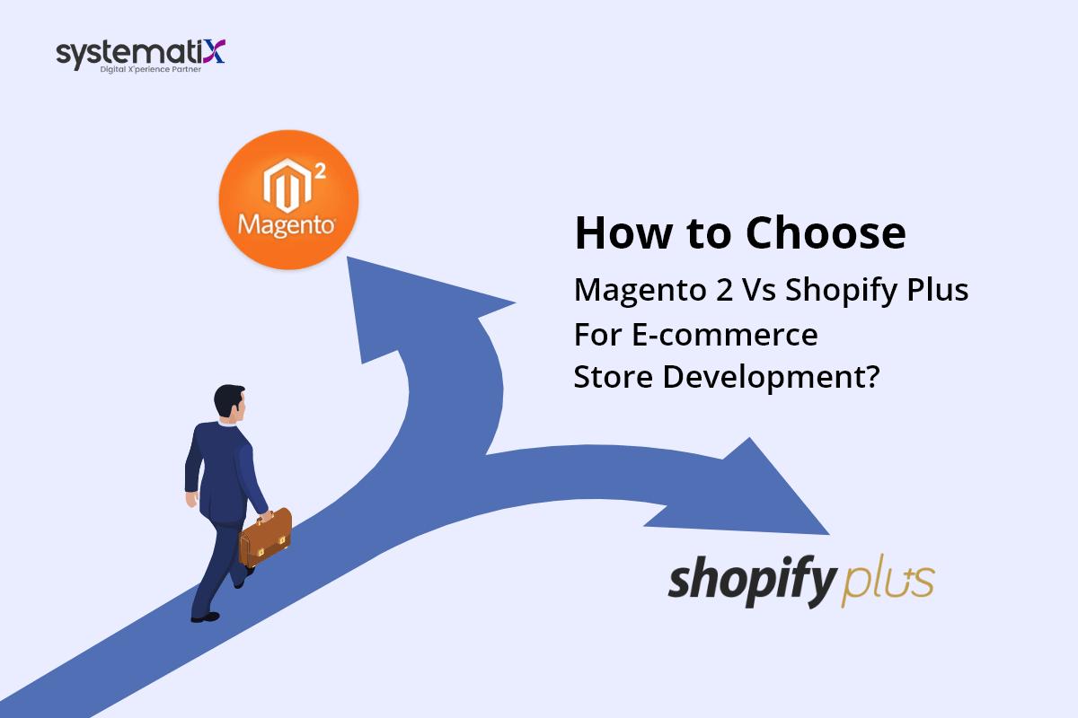 How to Choose: Magento 2 Vs Shopify Plus for E-commerce Store Development?