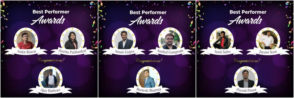 Best Perfomer Awards