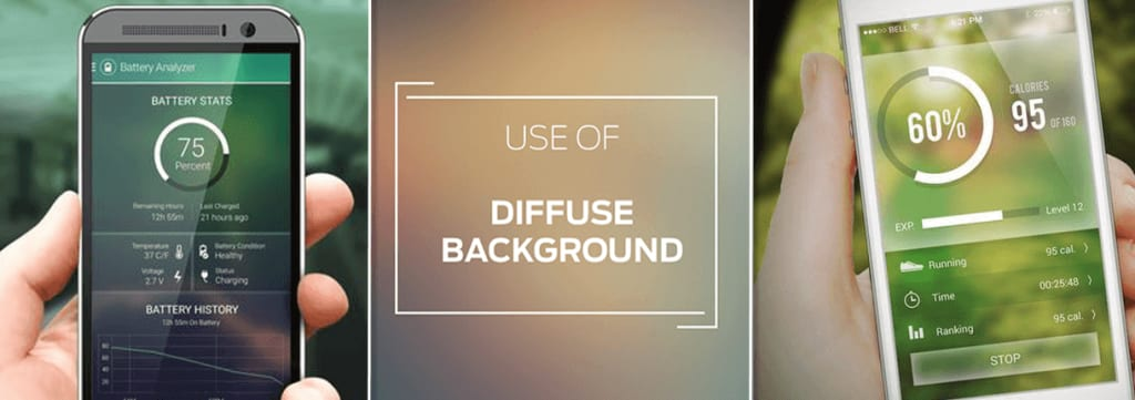 Diffused Backgrounds