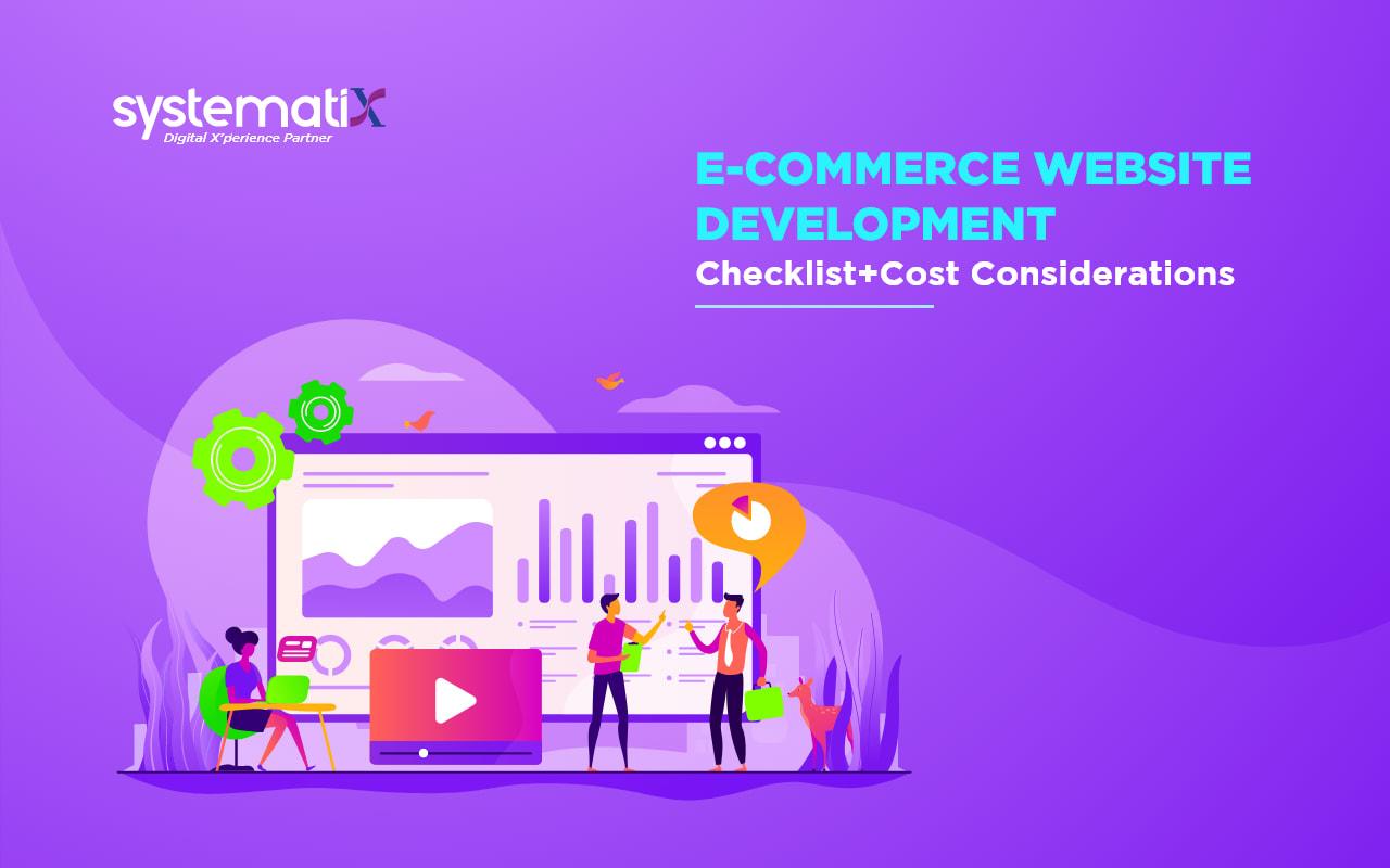 E-commerce Website Development Checklist + Cost Considerations
