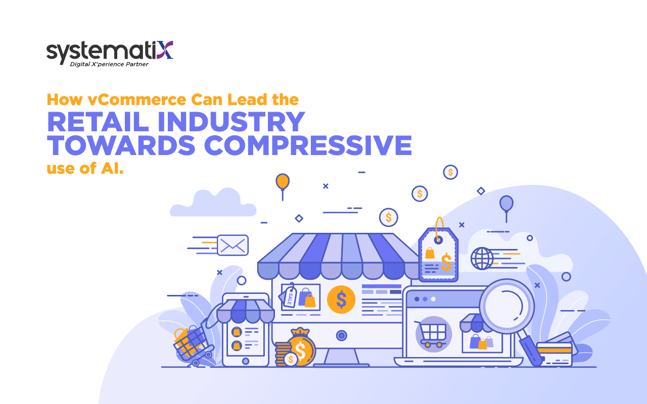 How vCommerce can Lead the Retail Industry Towards Compressive use of AI?