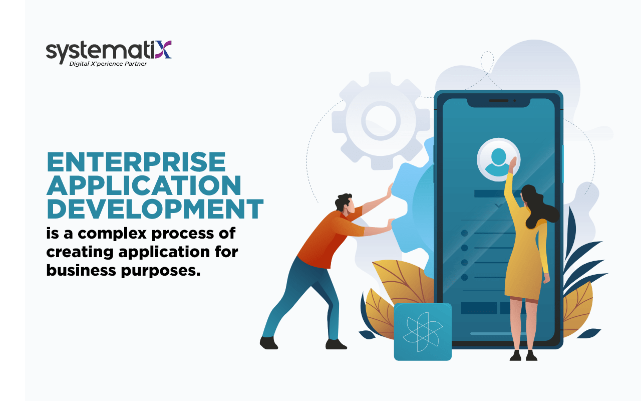 Enterprise Application Development is a complex process of creating application for business purposes.