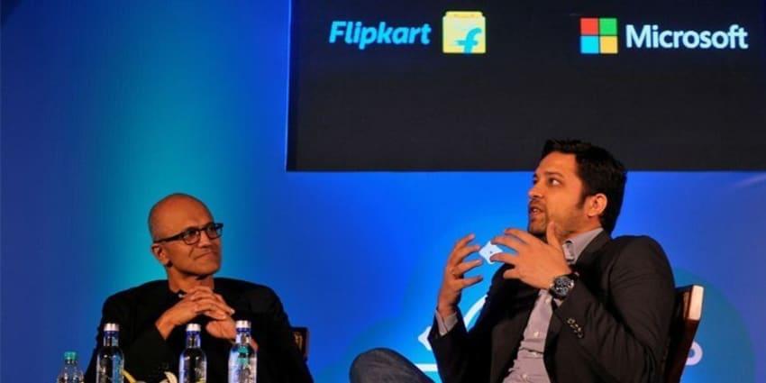Flipkart and Microsoft Partnership