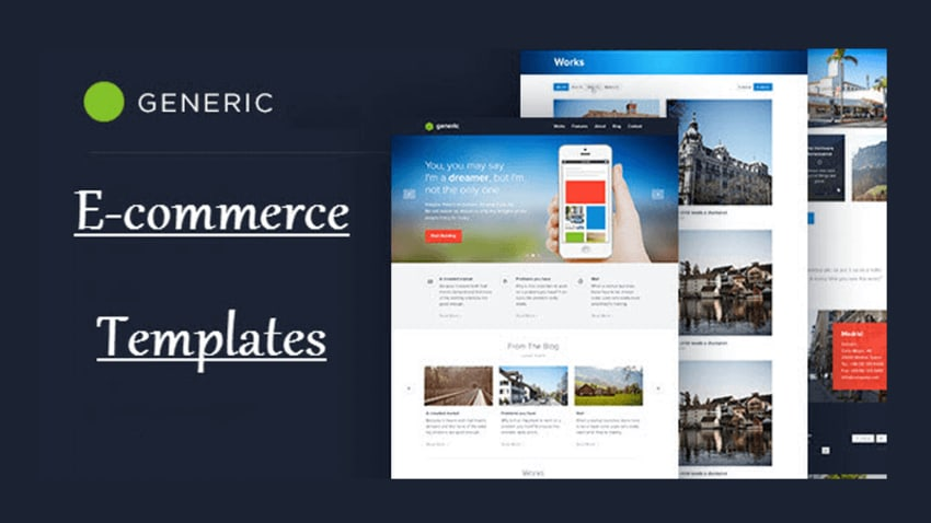 Generic Ecommerce Templates