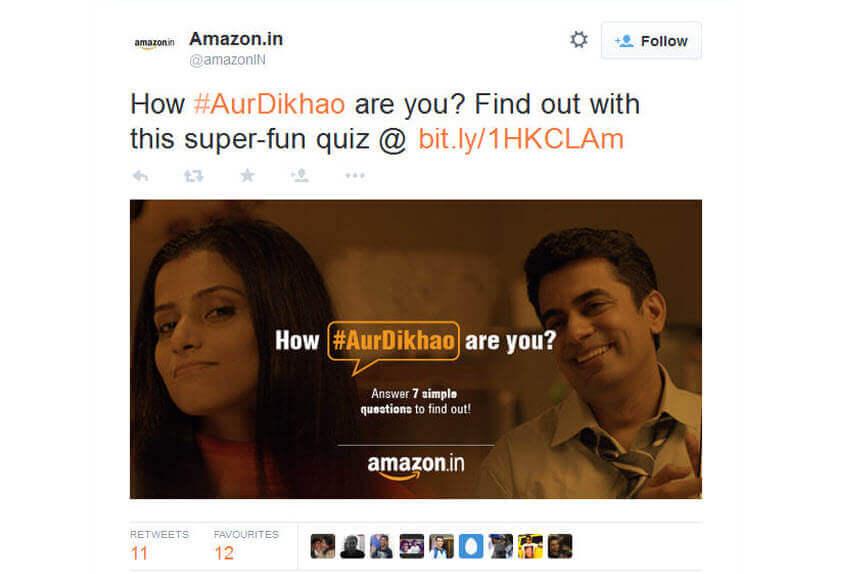 Amazon #AurDikhao