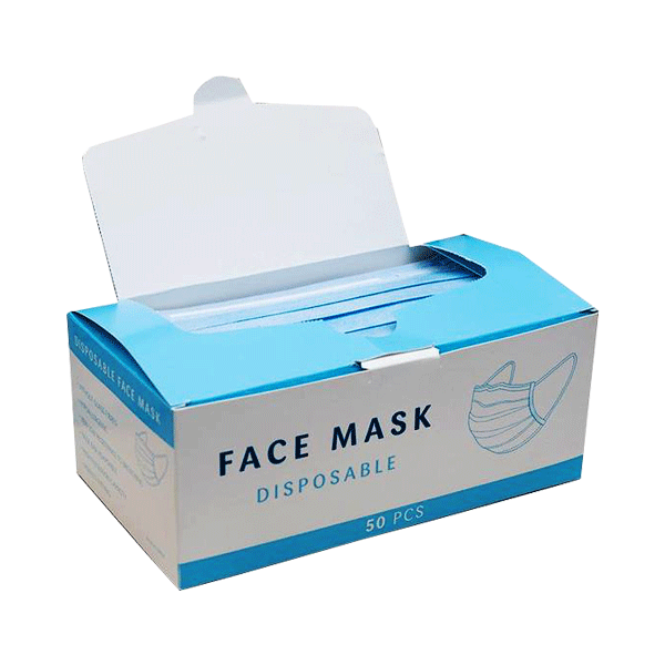 Custom Face Mask Boxes