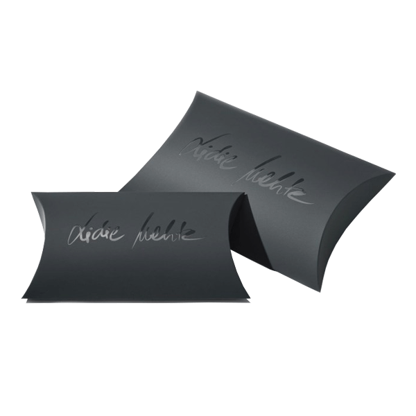 Black Pillow Boxes