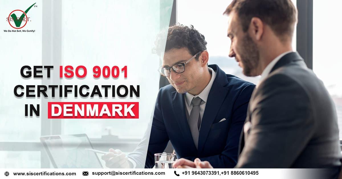 ISO 9001 Certification in DENMARK