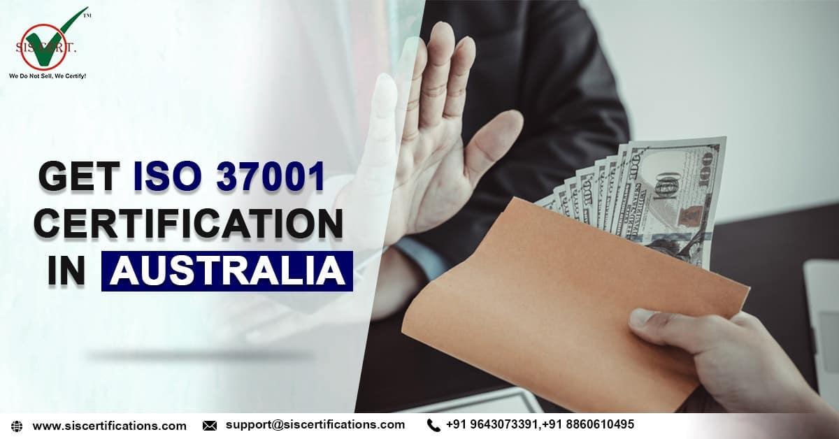 ISO 37001 certification in Australia