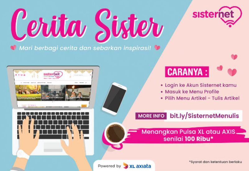 Sisternet - Menangkan Pulsa XL AXIS Dengan Ikutan Sister Menulis! 3c0c5bb245