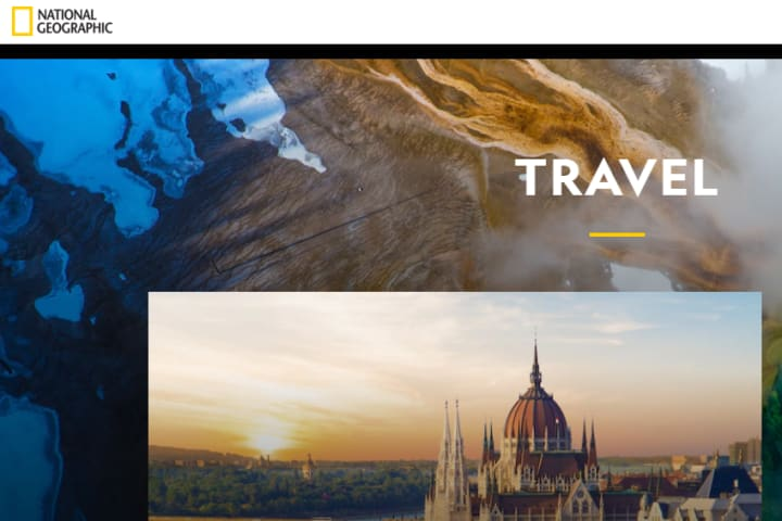 National Geographic Logo on their website