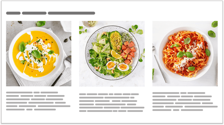 Amazon A+ Content Standard Three Images and Text Module