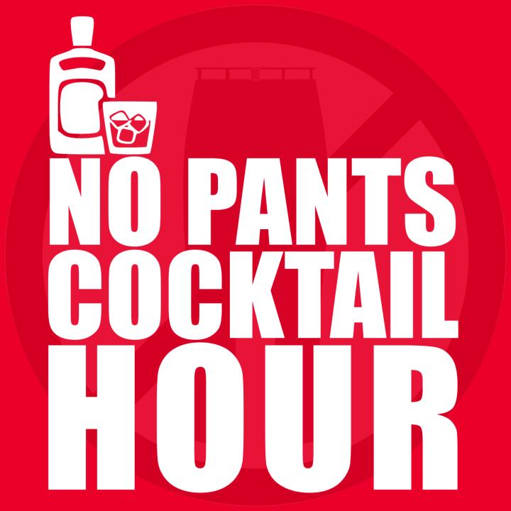No Pants Cocktail Hour Logo