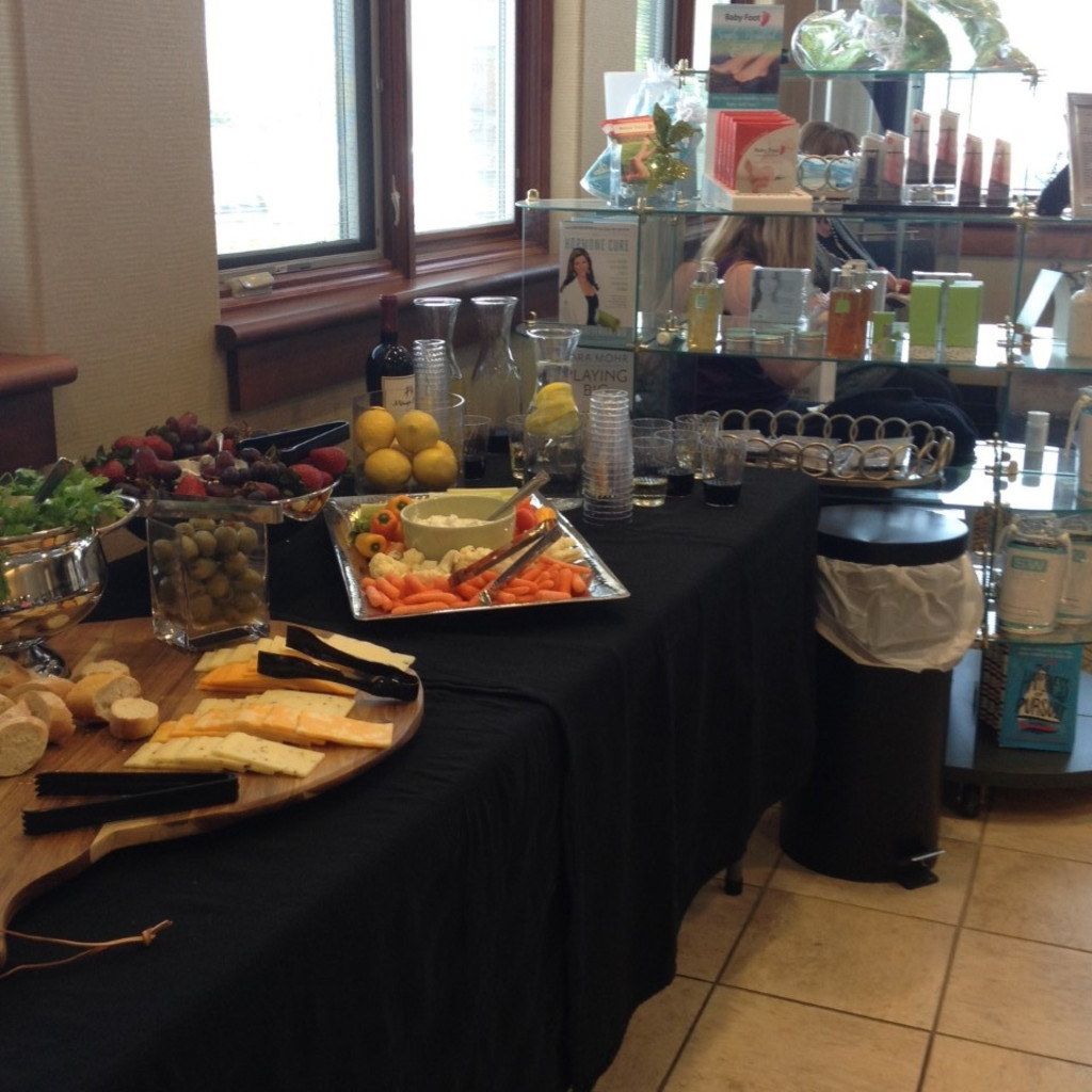 Great healthy snacks for our guests at Catalyst