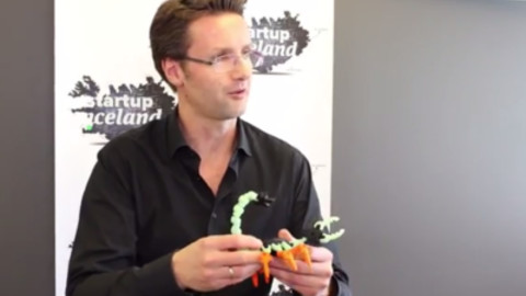 3-D Printed Action Figures! - Hilmar Gunnarsson of Modio