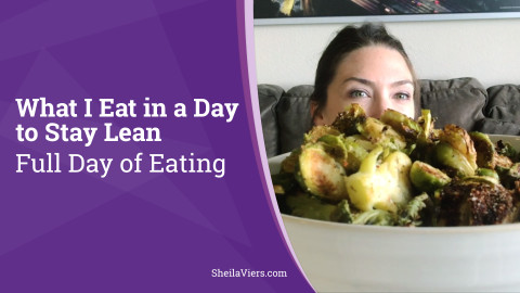 What I Eat to Stay Lean | Full Day of Eating | Healthy Dessert