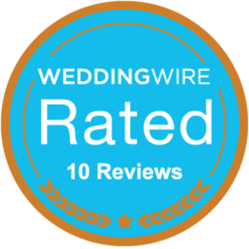 Weddingwire Rated - 10 Reviews