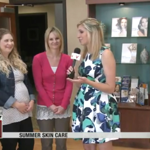 Summer Skin Care With Abbie and Jen Blais on Valley News Live