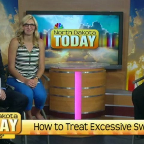 Nikki Welk Tells How To Treat Excessive Sweat on North Dakota Today