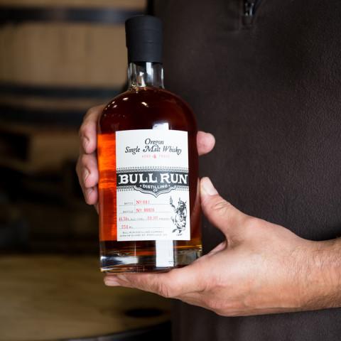 Bull Run Distillery's Oregon Single Malt Release