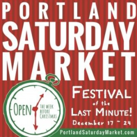 Portland Saturday Market's Festival of the Last Minute