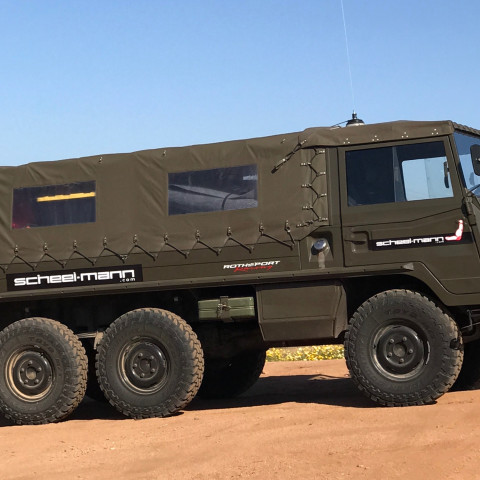 The Rothsport | scheel-mann Pinzgauer 712M Is For Sale!