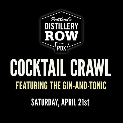 April Cocktail Crawl - Gin and Tonic