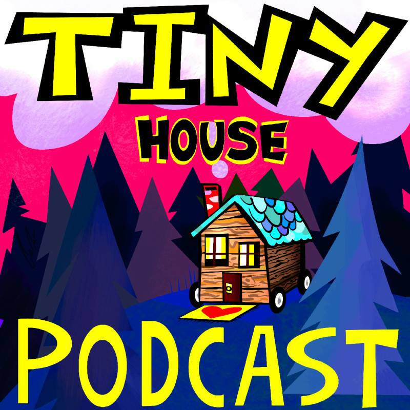 #144 Michelle Surprises The Crew With Our Sound Engineer's Tiny House Journey Rick McNerney