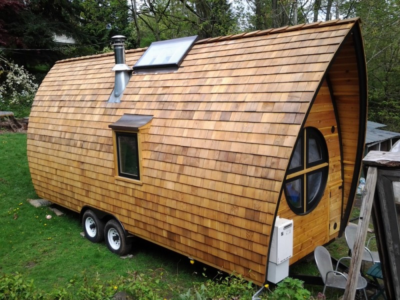 Prime S1E16 Abel Zimmerman Builds The Most Beautiful Tiny Houses Largest Home Design Picture Inspirations Pitcheantrous