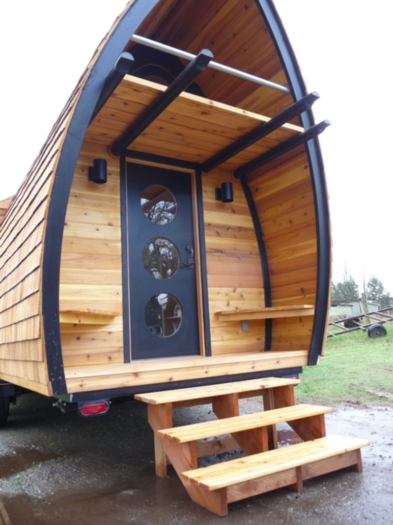 Terrific S1E16 Abel Zimmerman Builds The Most Beautiful Tiny Houses Largest Home Design Picture Inspirations Pitcheantrous
