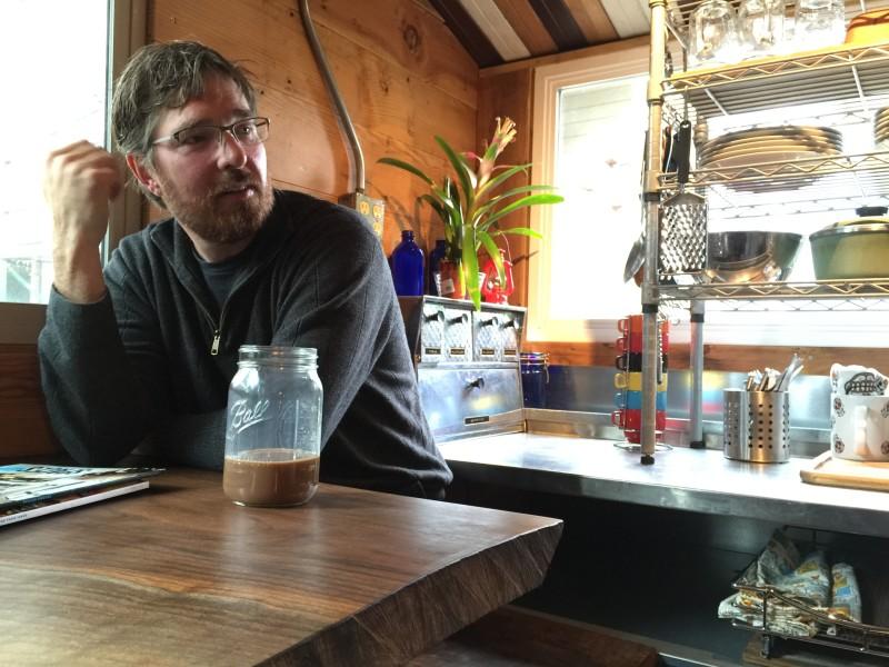Eric Bohne, Metalwood Salvage, Tiny House Builder