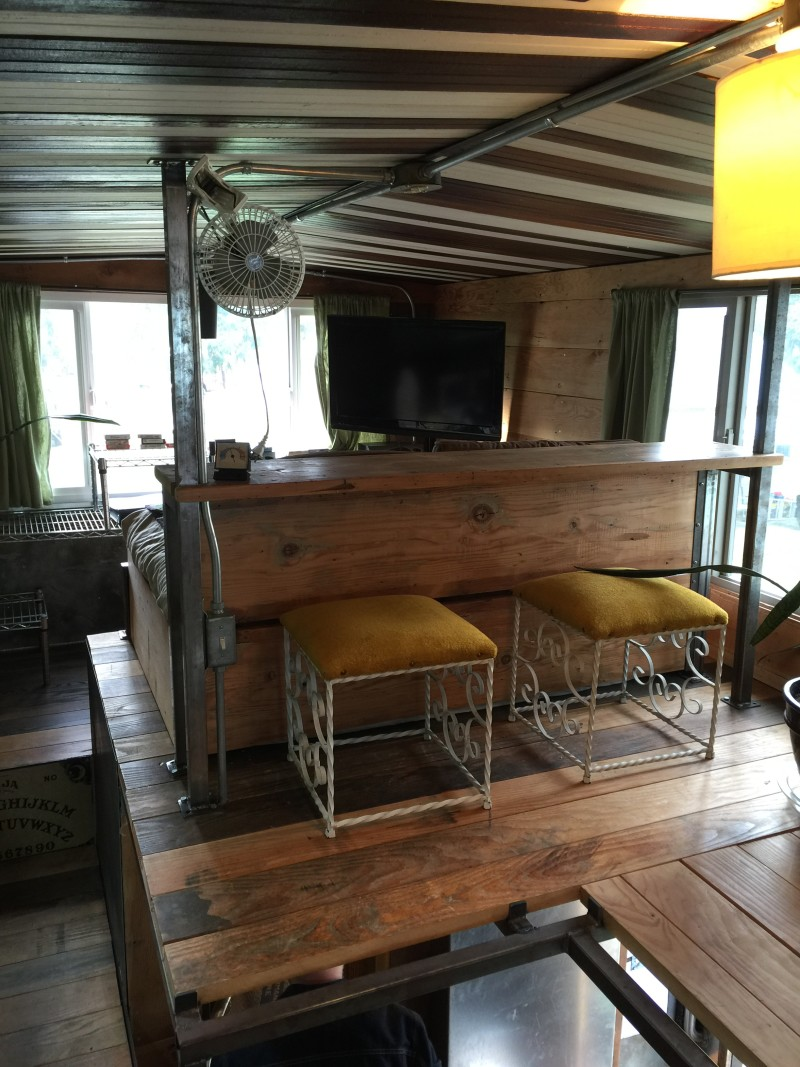Tiny House with a tiny bar