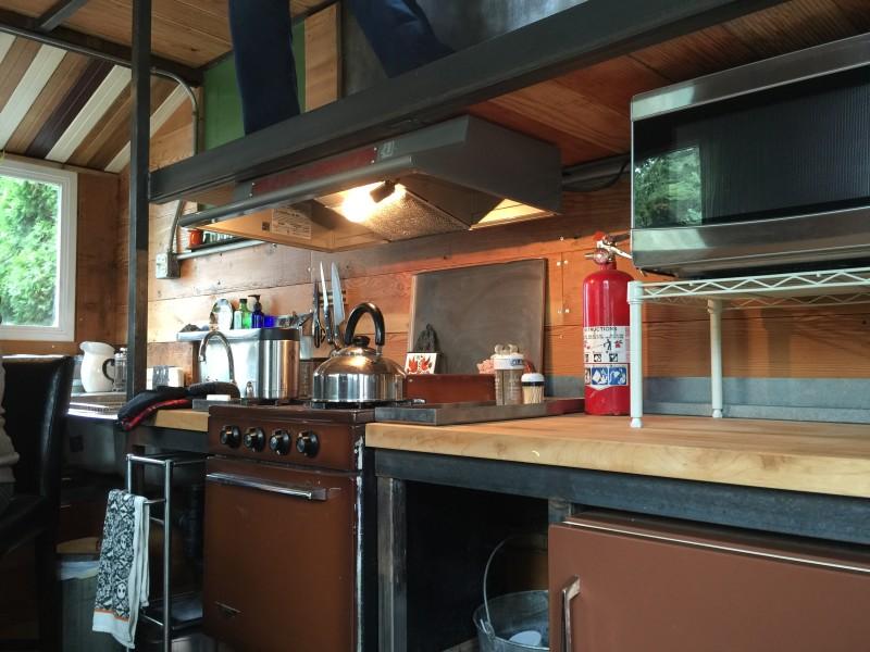 The Firebird kitchen by Eric Bohne