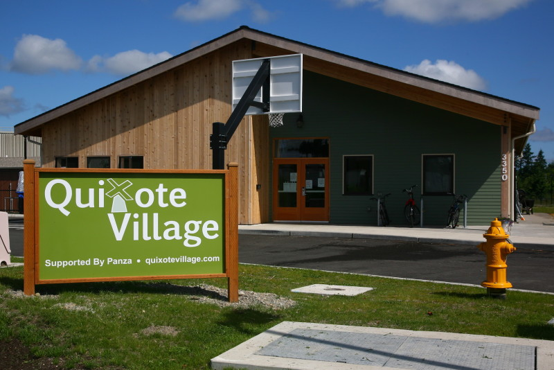 Quixote Village tiny homes for the homeless