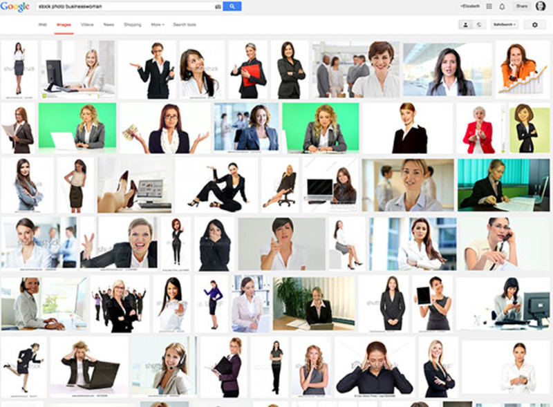 How Our Own Stock Photo Search Only Proves the Point