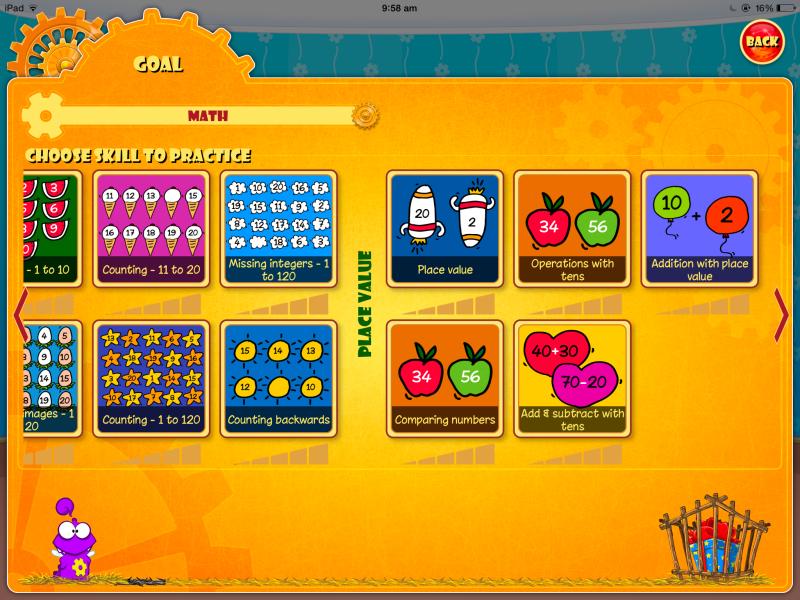 The Learn & Earn App for Math