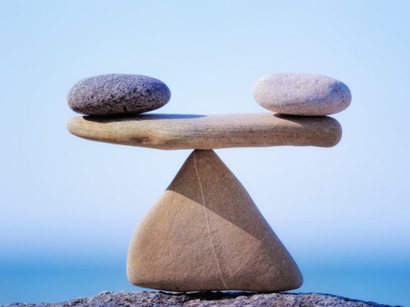 Balance is Found Right on the Edge of Risk.