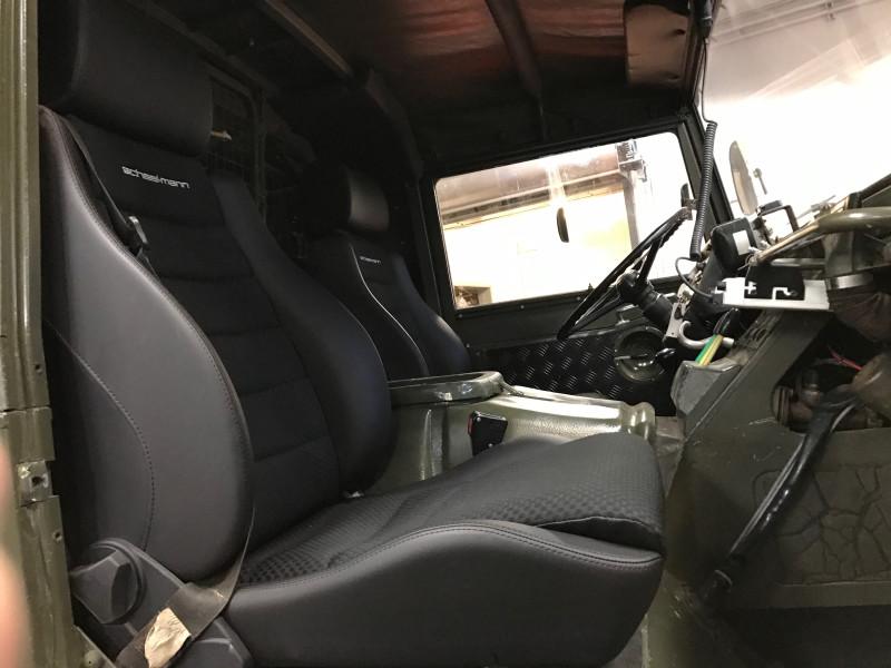 scheel-mann traveler F seats in the pinzgauer 712