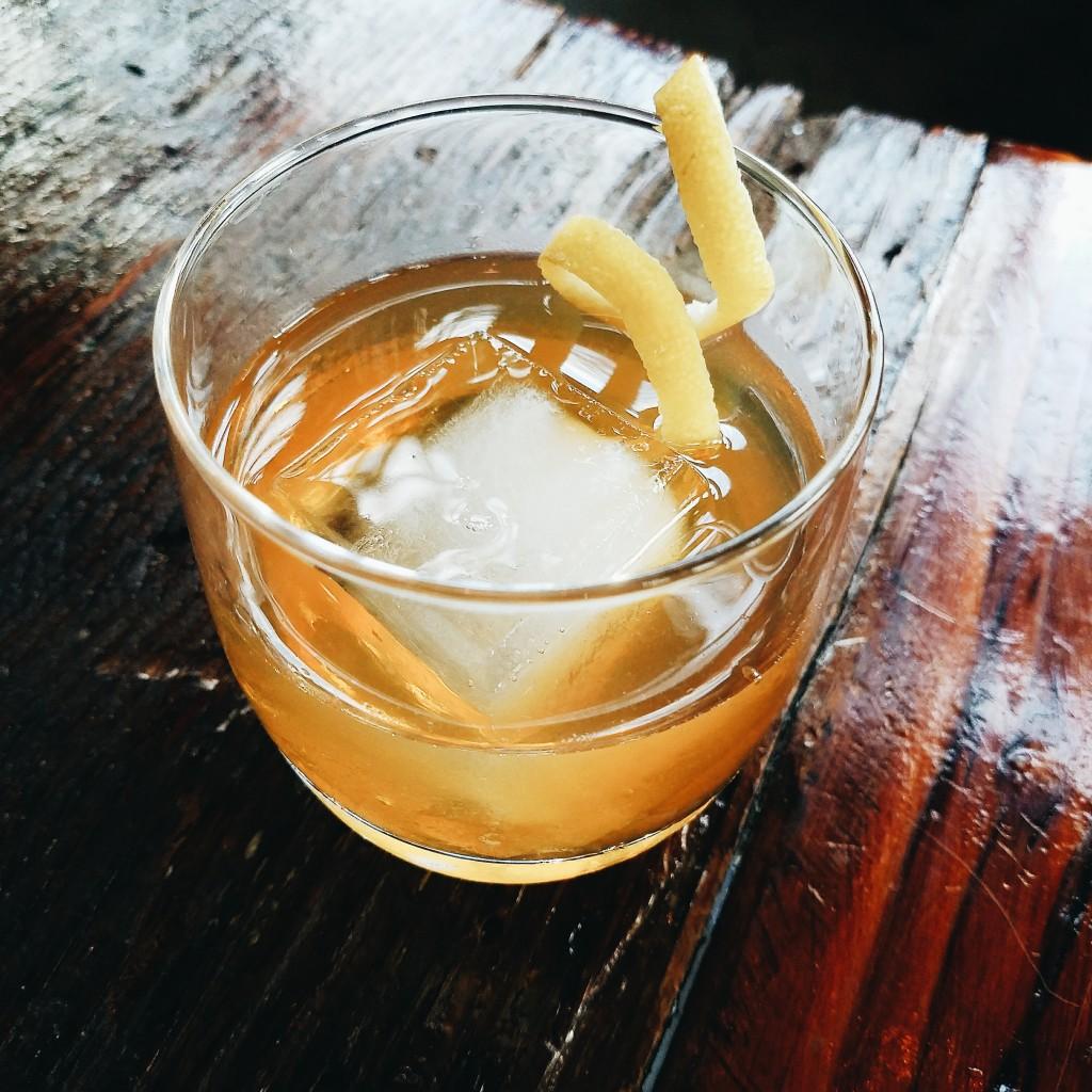 2 oz B.R Single Malt 1/2 oz Red Ale syrup (1:1 using Buoy Red Ale) 1/4 oz Amaro Nonino Stir, serve over large cube, lemon zest