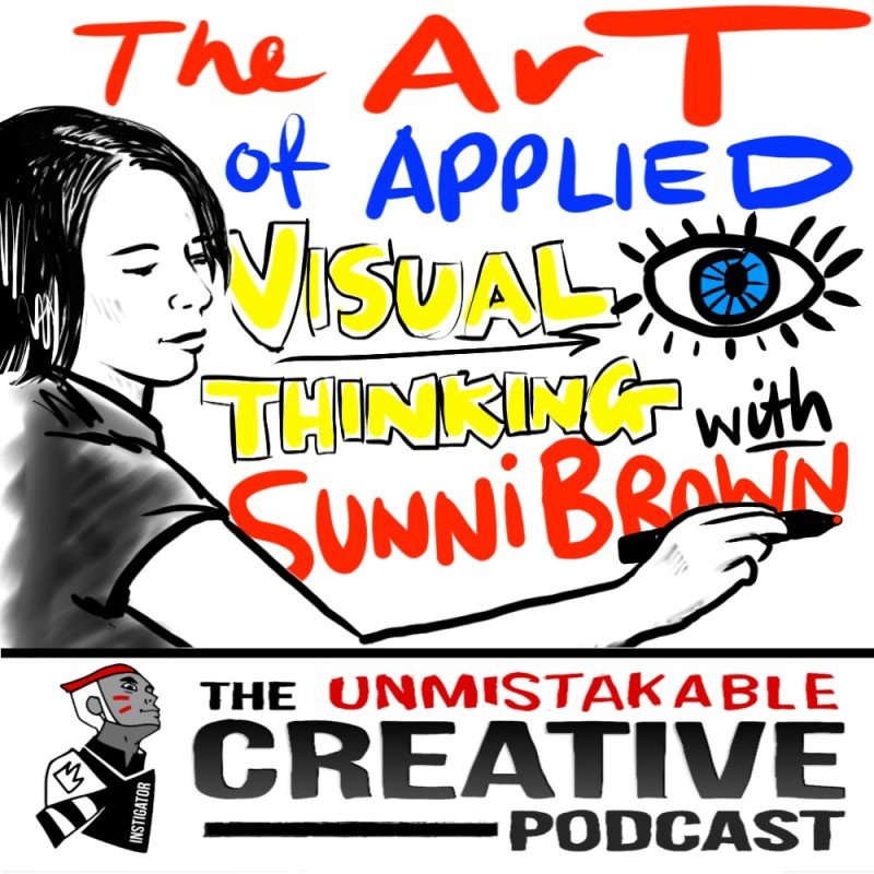 The Art of Applied Visual Thinking with Sunni Brown
