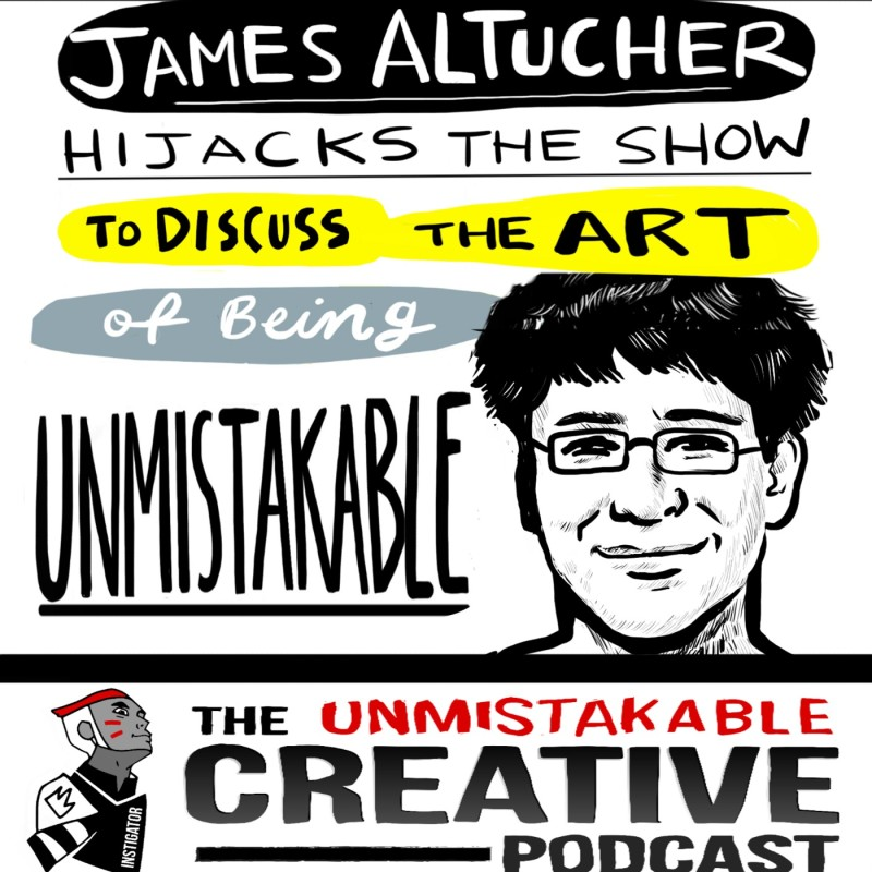 James Altucher Hijacks BlogcastFM to Discuss Unmistakable Art