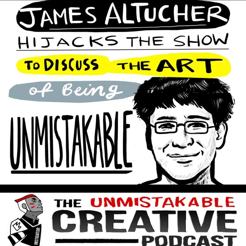 James Altucher Hijacks BlogcastFM to Discuss Unmistakable Art
